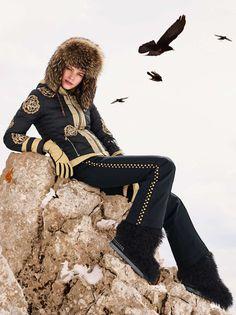 DOWN SKI JACKET AMAI in Black for Women | BOGNER USA