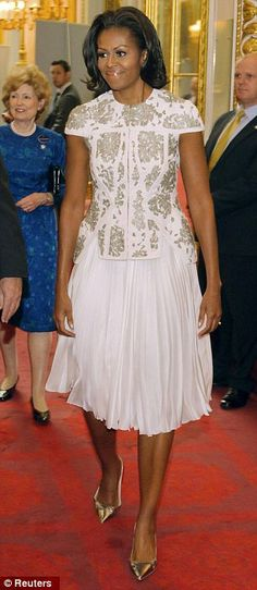 Michelle Obama carries herself with such class and grace. That's why I love her style.