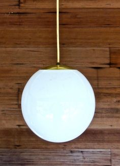 Hey, I found this really awesome Etsy listing at https://www.etsy.com/listing/224194531/vintage-globe-pendant-light-1950s-60s