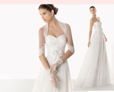 wedding A-line gown