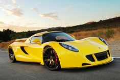 Hennessy Venom GT - Powered by a supercharged 6.2-liter GM-sourced V8 engine making 1,200-hp.  Price: $1,000,000