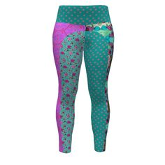 Hey June Handmade Sloan Paneled Leggings made with Spoonflower designs on Sprout Patterns.  This is an international collaboration by SAGE Designers maryyx, floramoon_designs and magentarosedesigns. Look for links to coordinating items on the associated fabric pages.  Just click on the fabric icons below this 3D model.