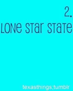 Lone Star State :)