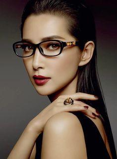 Gucci Bamboo Eyewear Campaign 2014 starring Li BingBing
