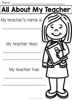 New School Year, I School, Back To School, School Ideas, Be My Teacher, Teacher Name, First Grade, Second Grade, Grade 1