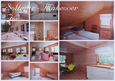 Sommer house - befor/ hytte - før