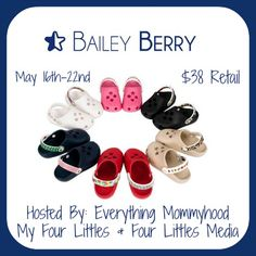 Bloom Into Baby: Bailey Berry Shoes Giveaway  Ends 5/22