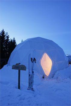 WhitePod Alpine Ski Resort - Monthey, Switzerland - 2012 - Angelique Buisson