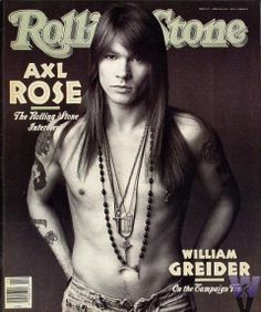 Rolling Stone ~ Axl Rose
