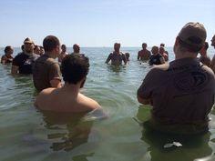#Training #KravMaga in acqua. #IKMF