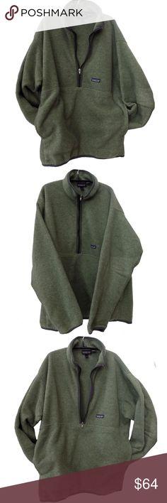 Patagonia Synchilla fleece Huge kangaroo pocket - very cool EUC Patagonia Jackets & Coats Performance Jackets