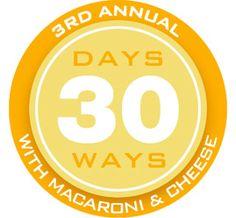 30 Ways to make Macaroni & Cheese