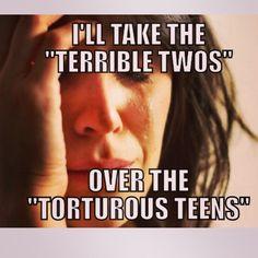 Raising Teenagers