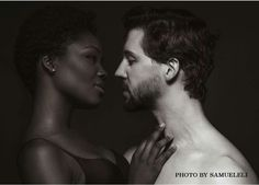 Chocolate woman + Vanilla man = love and couple. I am a black woman who loves a white man because the white men are very beautiful and very cute. Love knows no color. Love is blind. Black And White Couples, White Man, Black Girls, Afro, Biracial Couples, Interacial Couples, Mixed Couples, Hot Couples, Blind Love