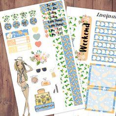 Alexa planner stickers kit| for erin condren planner stickers| happy planner stickers| life planner stickers| girl mini kit| MK004