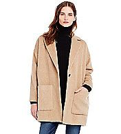 Wool Cocoon Coat - Fall Style