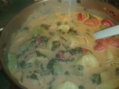 Tortellini Soup. This is very good!