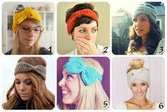 DIY - Headband de crochê
