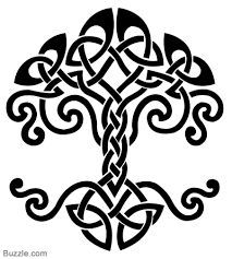 Dara Celtic Knot. This would be a cool tattoo between the shoulder blades or lower back. I love what it means, it's a sign of internal strength and strength of spirit.