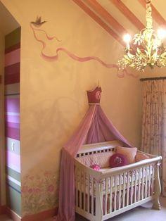 Cinderella Girls Room...TOO CUTE!
