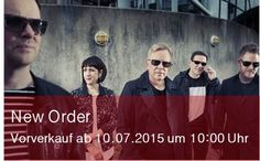 New Order im November live in Berlin | Ticket-Vorverkauf