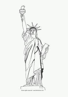 Statue of Liberty - for celebrate freedom week collage
