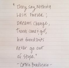 favorite quote by carrie bradshaw