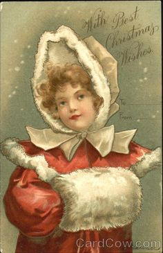 Girl With Best Christmas Wishes Series 446