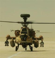 Israeli Air Force Boeing AH-64 Apache.