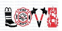 Firefighter/Fire and Rescue/Fire Wife/'Love Firefighter'/Vinyl Decal/Car - Wify Shirt - Ideas of Wify Shirt - Firefighter/Fire and Rescue/Fire Wife/'Love Firefighter'/Vinyl Decal/Car Decal/Tumbler by EmbellisheDKreationz on Etsy Firefighter Crafts, Firefighter Decals, Firefighter Emt, Volunteer Firefighter, Firefighter Tattoos, Firefighter Quotes, Firefighter Wedding, Cricut Vinyl, Vinyl Decals