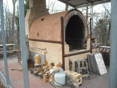 Mark Issenberg's kiln (GA, USA) after some firings.
