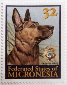 German Shepard Stamp