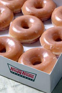 Ymmm! Krispy Kreme