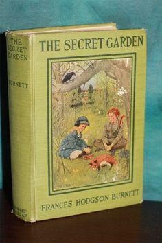 Vintage Copy Of The Secret Garden By Frances Hodgson Burnett Is A