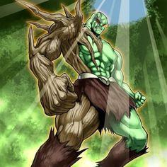 heroe elemental bosque