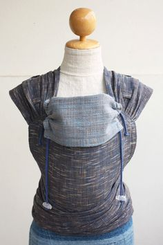 BaBy SaBye Wrap Mei Tai sling hand-woven two-side with a hood model43 Night/Evening