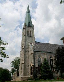 Saint Rose School and Parish Perrysburg Ohio Catholic Churches, Old Churches, Perrysburg Ohio, Les Religions, Church Architecture, Cleveland Ohio, Cathedrals, Castles, Worship
