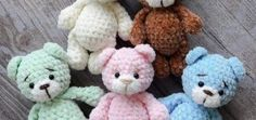 This amigurumi pattern is free and easy to crochet. Create your own a teddy bear doll in dress. You'll need mm crochet hook and Himalaya Dolphin Baby yarn. Easy Crochet Patterns, Amigurumi Patterns, Amigurumi Doll, Cute Crochet, Crochet Dolls, Crochet Baby, Crochet Teddy Bear Pattern, Plush Pattern, Free Pattern