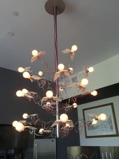 Birds birds birds by Ingo Maurer- Private residence NewYork City. Available at Urban Lighting Inc.
