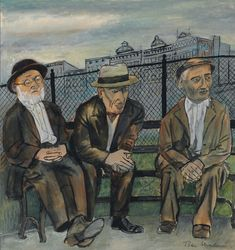 Art History News: Ben Shahn at Auction Ben Shahn, Social Realism, Textile Fiber Art, Canadian Art, Jewish Art, Tempera, Gouache Painting, North Africa, Book Photography