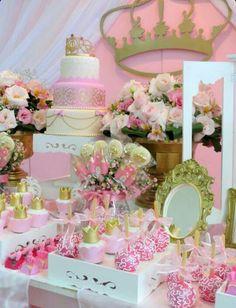 Mesa dulce de princesa