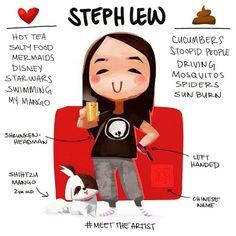 Steph Lew @stephlewart #MeetTheArtist fi...Instagram photo | Websta (Webstagram)