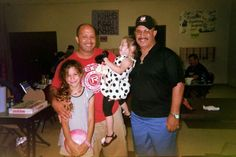 Jimmy Day and his kids and Dad, Tony