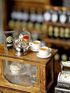 miniature tea shop :