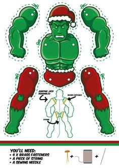 Santa claus hulk