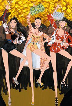(••) Creative Fashion Illustrations by Jordi Labanda