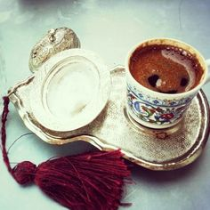 Turkish coffee.. ♥.♥ #ottoman #delight #coffee #Turkish #istanbul #old #share #cake #yummy
