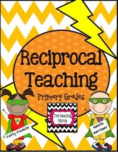 Reciprocal Teaching for Primary Grades - Class procedures - Reciprocal Teaching for Primary Grades {Super Hero Theme} - Guided Reading Groups, Reading Strategies, Reading Comprehension, Reciprocal Reading, Nutrition Tracker App, Nutrition Guide, Reading Recovery, Reading Street, Teaching Skills