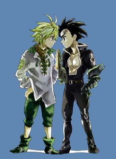 Meliodas and Zeldris