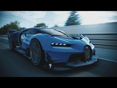Bugatti Vision Gran Turismo Unveiled [Video] - Now you can drive the ultimate sports car based on real physics, aerodynamics and speed. It's reality brought to the gaming world!